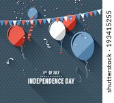 independence day   vector... | Shutterstock .eps vector #193415255
