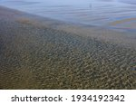 Sunlit Ripples In Shallow Water ...