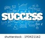 business background. success... | Shutterstock .eps vector #193421162