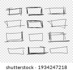 hand drawn set of objects for... | Shutterstock .eps vector #1934247218