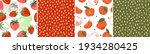 set of seamless pattern with... | Shutterstock .eps vector #1934280425