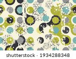 abstract seamless polka dots... | Shutterstock .eps vector #1934288348
