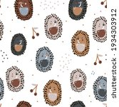 seamless abstract pattern with... | Shutterstock .eps vector #1934303912