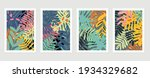 abstract art nature background... | Shutterstock .eps vector #1934329682