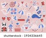 valentine illustration vector... | Shutterstock .eps vector #1934336645