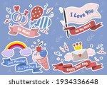 valentine illustration vector... | Shutterstock .eps vector #1934336648