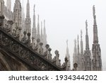 The Roof Of The Milan's Duomo...
