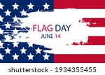 background banner with usa flag ... | Shutterstock .eps vector #1934355455
