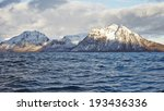 nordic landscape. mountains | Shutterstock . vector #193436336