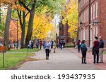 cambridge  ma  usa   november 2 ... | Shutterstock . vector #193437935