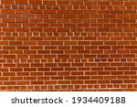 Red Brick Wall With Contrasty...