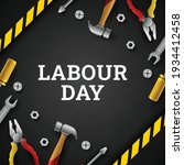 happy labour day background...   Shutterstock .eps vector #1934412458