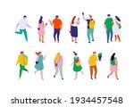 different isometric cartoon...   Shutterstock .eps vector #1934457548