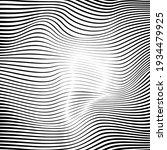 ripple texture black and white... | Shutterstock .eps vector #1934479925
