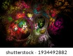 Abstract Fractal Pattern Fairy...
