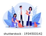 vet doctor and his assistant... | Shutterstock .eps vector #1934503142