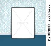 vector poster template of a... | Shutterstock .eps vector #193451132