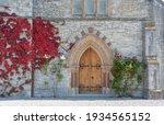 Old Door In A Church. Howth....