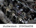Detail Of Modern Diesel Engine...