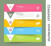 vector infographics template... | Shutterstock .eps vector #193459922