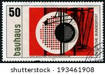 germany   circa 1983  a stamp... | Shutterstock . vector #193461908
