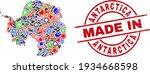 component mosaic antarctica... | Shutterstock .eps vector #1934668598