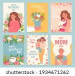 happy mothers day card. best... | Shutterstock .eps vector #1934671262