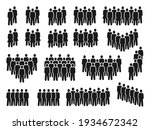 people crowd icons. group of... | Shutterstock .eps vector #1934672342