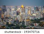 commercial building in bangkok... | Shutterstock . vector #193470716