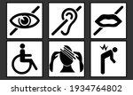 6 pictograms representing... | Shutterstock .eps vector #1934764802