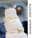 delicious original wedding cake ... | Shutterstock . vector #193476776
