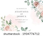 silver sage and blush pink... | Shutterstock .eps vector #1934776712