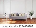 Elegant Living Room Interior...