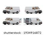 big isolated vehicle vector... | Shutterstock .eps vector #1934916872