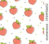 seamless pattern with cute... | Shutterstock .eps vector #1934956652