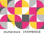 abstract scandinavian bauhaus...   Shutterstock .eps vector #1934984018