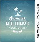 beach typographic background...   Shutterstock .eps vector #193503188