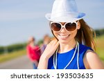 portrait of a stylish young... | Shutterstock . vector #193503635