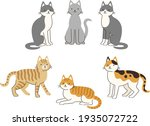 Illustrations Of Cats With...
