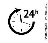 stopwatc icon. time icon vector ... | Shutterstock .eps vector #1935080312