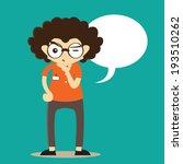 professor mascot vector | Shutterstock .eps vector #193510262