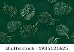 vector seamless botanical ... | Shutterstock .eps vector #1935121625