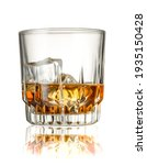 Whiskey With Ice Cubes ...