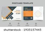 corporate business postcard...   Shutterstock .eps vector #1935157445