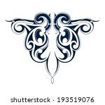 tribal tattoo | Shutterstock .eps vector #193519076