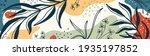 botanical banner with organic... | Shutterstock .eps vector #1935197852