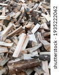 Pile Of Firewood On A Heap....