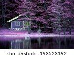 Purple Infrared Landscape On...