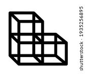 cube icon or logo isolated sign ... | Shutterstock .eps vector #1935256895