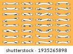 vintage ribbon set. scrapbook... | Shutterstock .eps vector #1935265898